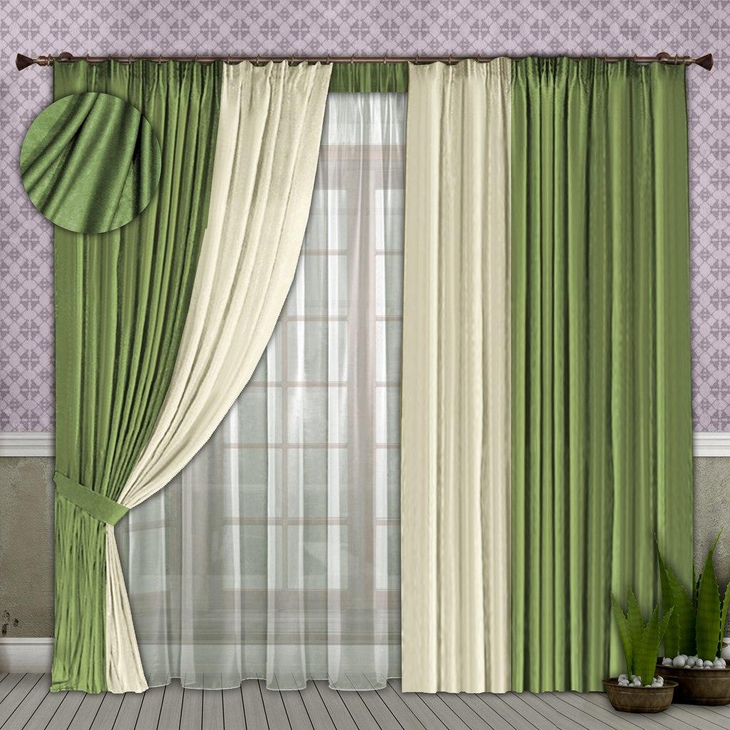 нашим продуктам, как скомбинировать шторы двух цветов фото полидакт