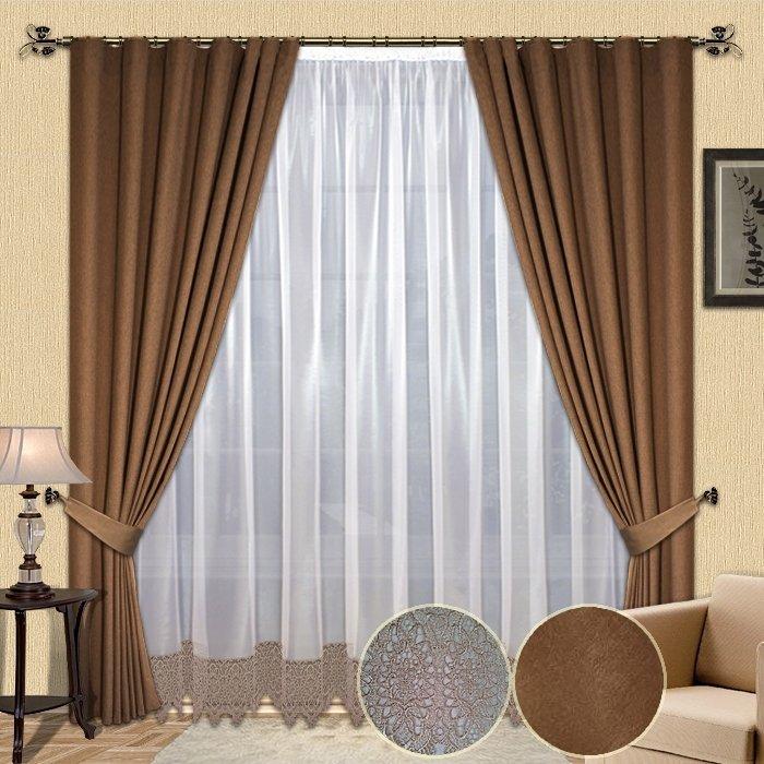 Дизайн тюли штор фото